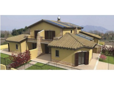 Studio longetti vendesi terreno agricolo con progetto for Progetti di villette in campagna